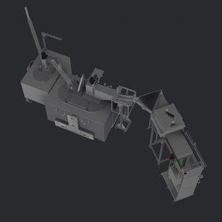 Massel-Depalettierer in Kombination mit einer Mg-In-Cell-Recyclingzelle